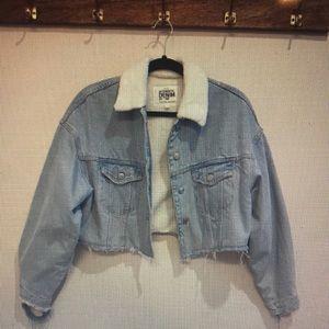 Zara - Cropped denim jacket